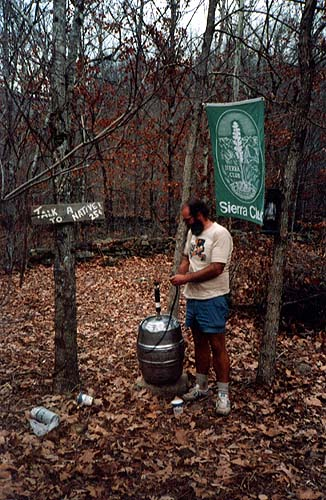 A Kegger In The Woods